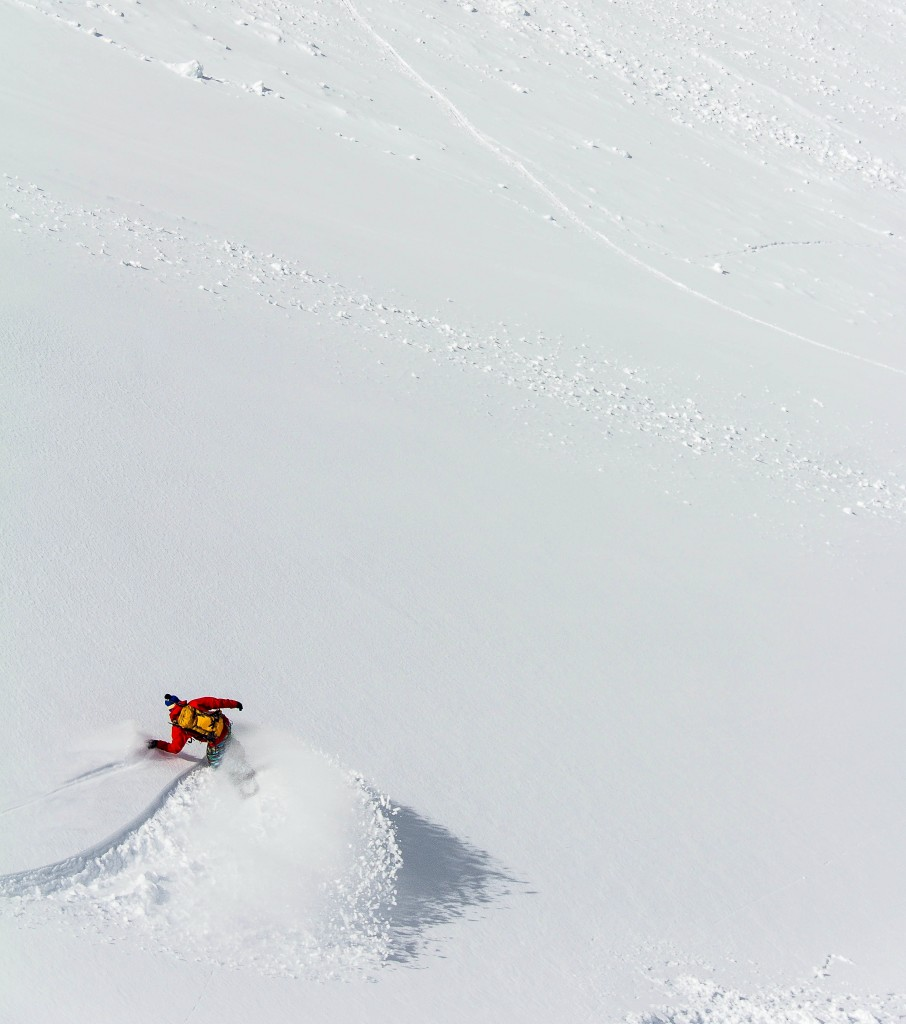 Spring Pow Slash. Photo: Brian Nagle