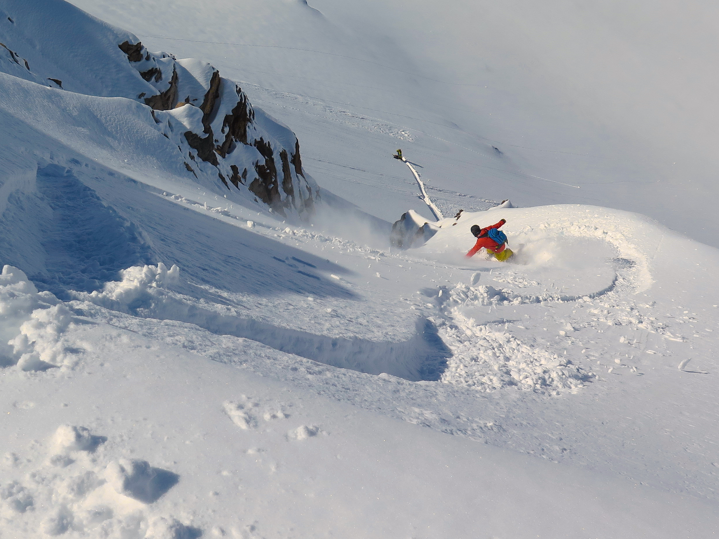 Slaying Southern Hemi Powder - Valle Nevada Backcountry