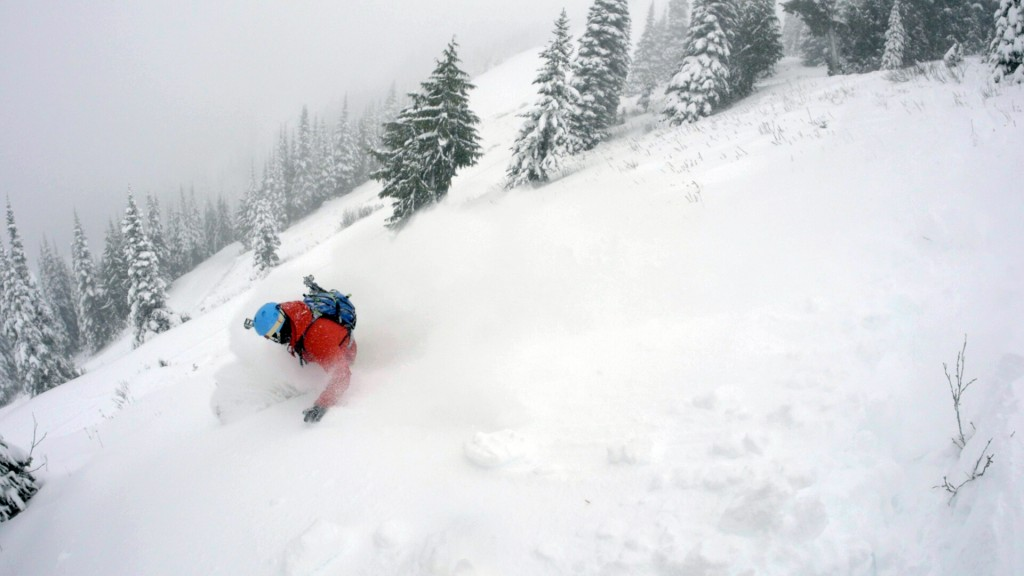 Deep Early Season Pow at Crystal Mountain. Photo: Jesse Hambley