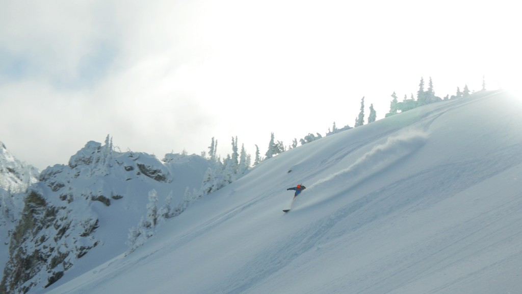 Slashing Cascadian Powder Photo: Jesse Hambley