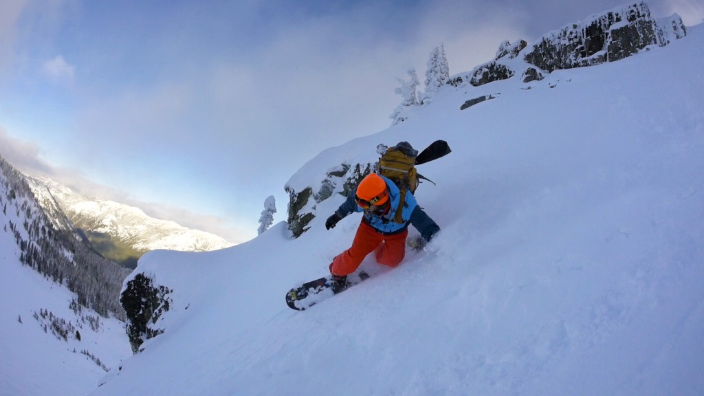 Cascade pow day; Photo: Jesse Hambley
